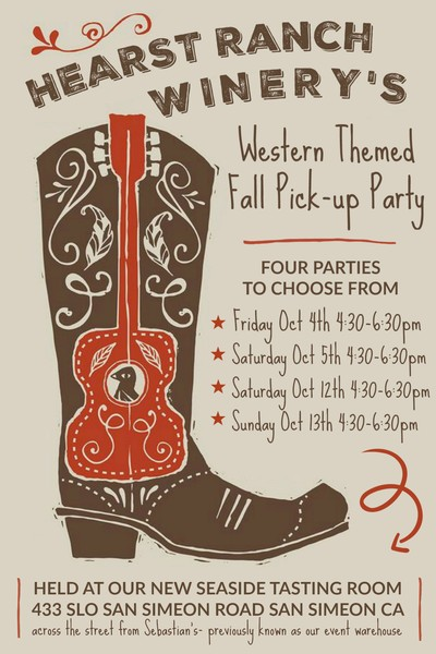 Fall Club Member Party - Saturday Oct 5th 4:30pm Ticket