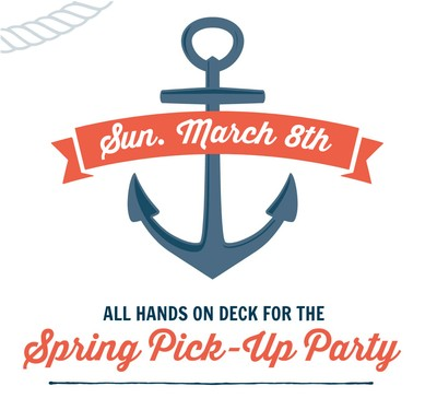 Spring Legacy Club Member Party -  Sunday March 8th 2020